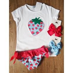 Conjunto baño fresas